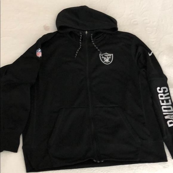 new concept 23866 92aeb Nike Raiders Hoodie - Zip Up